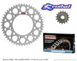 Renthal Sprockets and Renthal R3 Gold O-Ring Chain - Kawasaki KLX 250 S (2009-2015)